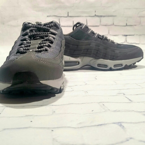 New Nike Air Max 95 Grey Wolf 609048 088 Shoes 8.5